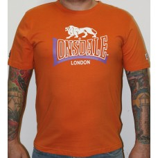 T-shirt Lonsdale orange