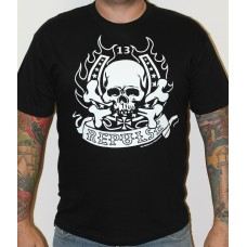 "T-shirt Repulse  Black  ""skull"""