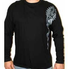T-shirt  Repulse - insignia  long sleeve  Black