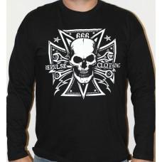 T-shirt Repulse - 666 Cross Skull