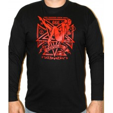 T-shirt Repulse  Black  long sleeve