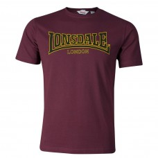 triko Lonsdale Classic Burgundy