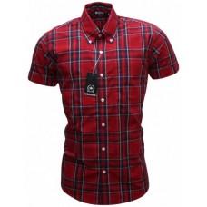 košile Relco RED