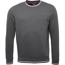 Svetr Ben Sherman  Crew Neck Grey