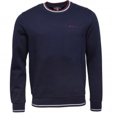 jumper Ben Sherman Crew Neck Navy