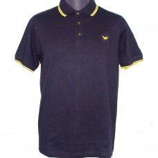 Polo Shirt  Warrior Clothing - BLACK / yellow
