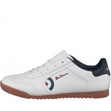 shoes Ben Sherman white leather