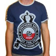 T-shirt Warrior - Keep the Faith - Northern Soul