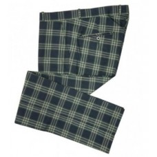 Trousers Relco London Tartan Blue