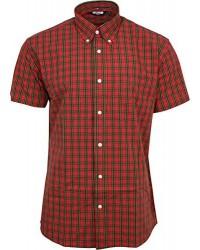 Relco London shirt  RED Tartan