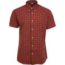 košile Relco RED Tartan