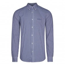 long sleeve Shirt  Ben Sherman button down Blue White