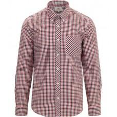 long sleeve Shirt  Ben Sherman button down Red / Blue