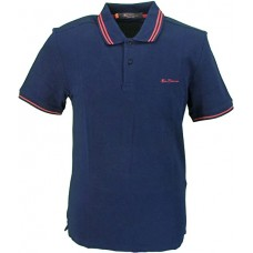 Ben Sherman Men's Polo Shirt  Dark Navy