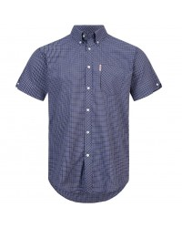Brutus Shirt  Black Blue