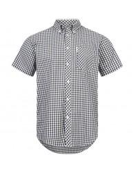 Brutus Shirt  Black White