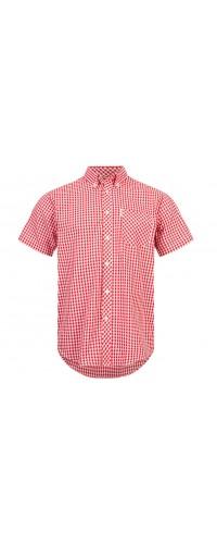 Brutus Shirt  Red White