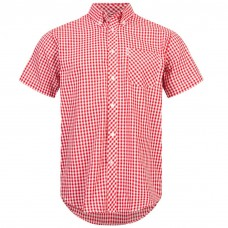 Brutus Shirt  Red White