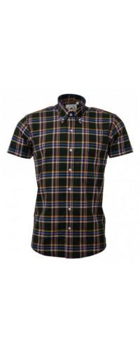 shirt Relco London  Green Check