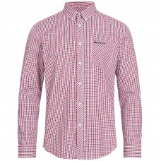 long sleeve Shirt  Ben Sherman button down blue red