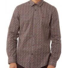 long sleeve Shirt Ben Sherman button down Camel
