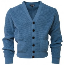 Relco London Cardigan Dusty Blue