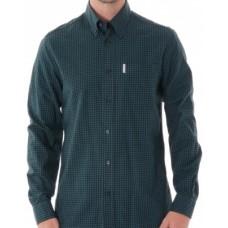 long sleeve Shirt  Ben Sherman button down Trecking Green