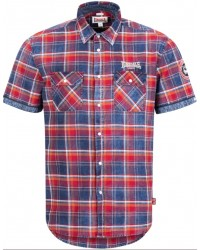 shirt Lonsdale  BOXGROVE  Navy/Red/White