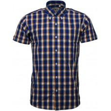 shirt Relco London Blue & Yellow & White