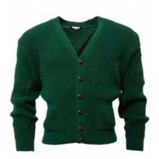 Relco London Cardigan Bottle Green