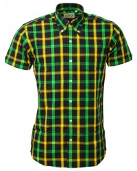 Relco London  Jamaica Check shirt