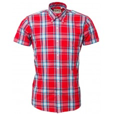 Relco London Red Check Shirt