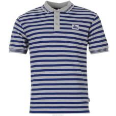 Polokošile Lonsdale blue stripe