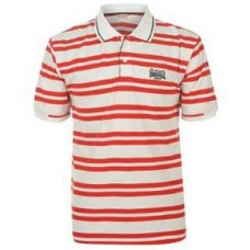 Polokošile Lonsdale red stripe