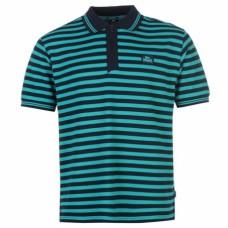 Polokošile Lonsdale navy green stripe