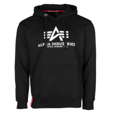 Alpha Industries Classic Hoodie Black