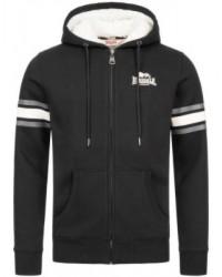 hoodie Lonsdale Strete  Black
