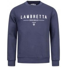 Lambretta Crew Neck Sweat Herren Sweatshirt  NAVY
