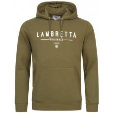 Lambretta Hoodie Men  OLIVE