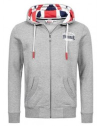 hoodie Lonsdale DITTISHAM  Grey