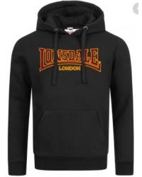 hoodie Lonsdale Classic  BLACK