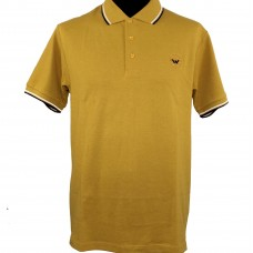 Polo Shirt  Warrior Clothing Mustard
