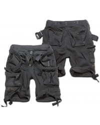 Brandit shorts - Savage vintage BLACK