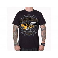 T-shirt Blackheart - Customs and Hot Rods  since 2006