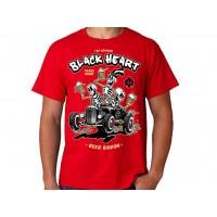 T-shirt Blackheart - Beer Baron  Red