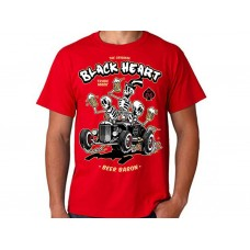 T-shirt Blackheart - Beer Baron  Red