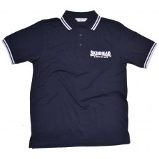 Poloshirt Skinhead a way of life  Navy / white lining
