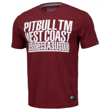 T-shirt Pitbull  TM west coast  business as usual