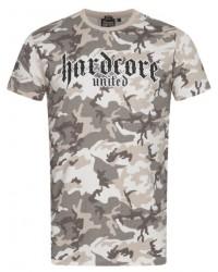 T-shirt Hardcore United Urban Tan