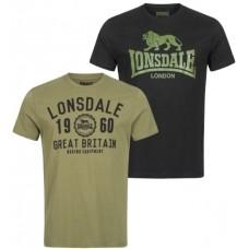 T-shirt Lonsdale BANGOR DOPPELPACK